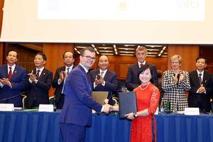 Máy bay thân rộng Boeing 787 Dreamliner của Bamboo Airways sẽ được khai thác trên đường bay thẳng tới Cộng hòa Séc