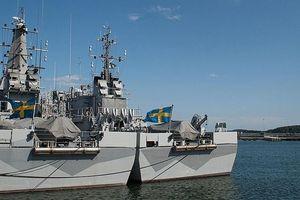 Thụy Điển ra mắt tàu gián điệp 'tối mật' mới ở biển Baltic