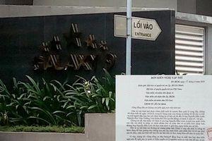 69 hộ dân Galaxy 9 gửi đơn đề nghị xử lý nghiêm ông Linh