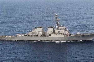 Nga đang theo sát hoạt động của tàu khu trục Mỹ trên Biển Đen