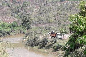 Tái diễn tình trạng khai thác cát trái phép ở Mang Yang