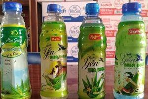 Gần 9.000 chai nước yến nha đam có dấu hiệu xâm phạm nhãn hiệu được bảo hộ