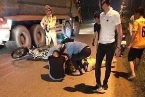 Hà Nội: CSGT bị thanh niên 16 tuổi tông trúng khi đang làm nhiệm vụ