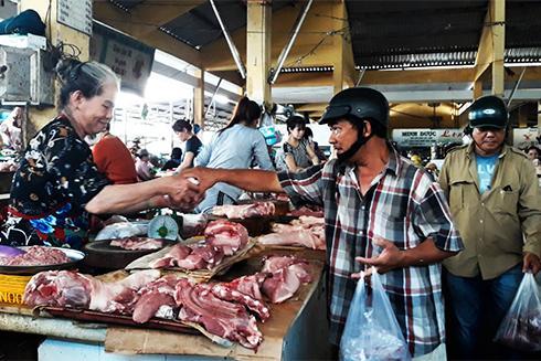 Thịt heo tăng giá