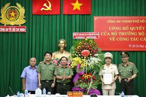Trao quyết định Phó Giám đốc Công an TP Hồ Chí Minh