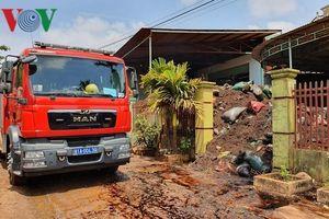 Cháy kho hồ tiêu được mua bảo hiểm 19 tỷ đồng tại Gia Lai