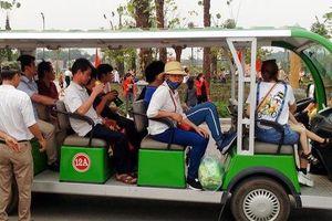 Lễ hội Đền Hùng 2019: Xe điện trở thành 'hạt sạn' hiếm hoi trong khâu tổ chức