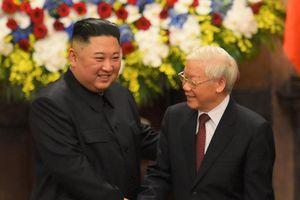 Ông Kim gửi lời cảm ơn Tổng bí thư, Chủ tịch nước Nguyễn Phú Trọng