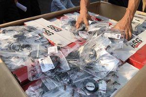 Hải quan phát hiện lô phụ tùng ôtô trên 2 tỉ đồng không khai báo