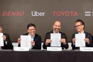 Uber nhận 1 tỷ USD đầu tư vào xe tự lái