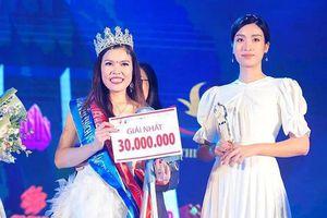Bế Thị Băng, cô gái Cao Bằng tài năng đăng quang Hoa hậu Vẻ đẹp Vầng trăng khuyết 2019