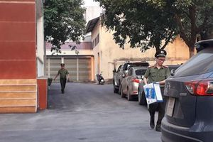 Vụ cán bộ thanh tra nhận tiền: Công an kiểm tra tại trụ sở Thanh tra tỉnh Thanh Hóa