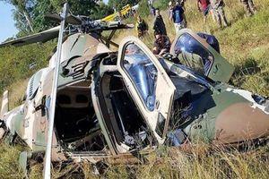 Rơi trực thăng Agusta A109 của Không quân Nam Phi