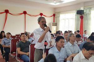 Cử tri quận Hà Đông: Kiến nghị nhiều vấn đề về quản lý chung cư