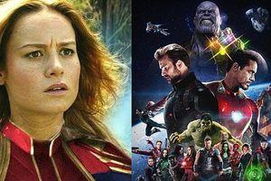 Captain Marvel công bố cách dễ dàng nhất để thắng được Thanos