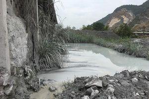 Yên Định (Thanh Hóa): Khai thác đá sai thiết kế, xả thải gây ô nhiễm