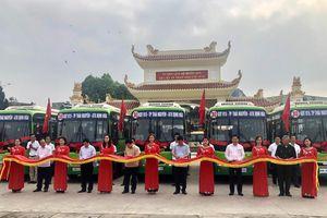 Thái Nguyên: Khai trương tuyến xe Buýt số 30 kết nối các điểm di tích lịch sử quốc gia