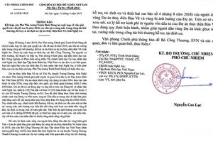 Nghệ An: Phó Thủ tướng chỉ đạo giải quyết 'Dân tái định cư thiếu đủ thứ'