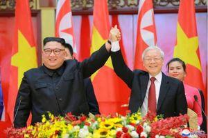 Chủ tịch Kim Jong-un gửi lời cảm ơn sâu sắc tới Tổng Bí thư, Chủ tịch nước Nguyễn Phú Trọng
