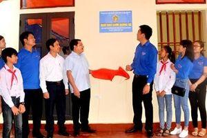 Khánh thành 'ngôi nhà khăn quàng đỏ' tại Khánh Dương, Yên Mô