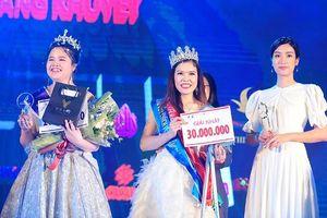 Bế Thị Băng giành ngôi vị cao nhất 'Vẻ đẹp vầng trăng khuyết' 2019