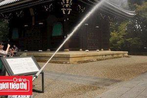 Sau thảm họa nhà thờ Đức Bà Paris, Nhật Bản tiến hành phòng cháy cho các di tích