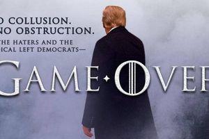 Đăng poster như phim để ăn mừng được 'minh oan', ông Trump chọc giận đảng Dân chủ