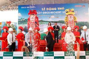 Khởi công xây dựng nhà máy Groz – Beckert Việt Nam II hơn 200 tỷ đồng