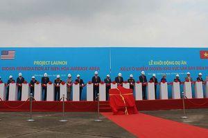 Bắt đầu xử lý điểm nóng ô nhiễm dioxin lớn nhất tại Việt Nam