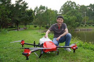 Nông dân Trung Quốc ôm mộng đổi đời nhờ drone