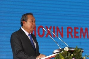 Phó Thủ tướng dự Lễ khởi động dự án xử lý dioxin sân bay Biên Hòa