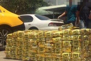 Ma túy bị bắt ở TP.HCM và Hà Tĩnh cùng đường dây xuyên quốc gia
