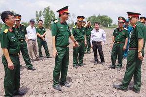 Khảo sát xây dựng điểm cụm dân cư liền kề chốt dân quân biên giới tại Tây Ninh