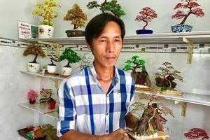 Khởi nghiệp với bonsai dây kim loại