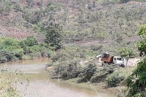 Sở TN&MT tỉnh Gia Lai đề nghị xác minh, xử lý việc khai thác cát trái phép tại huyện Mang Yang