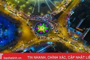 Thành phố Hà Tĩnh từ trên cao - Quen mà lạ