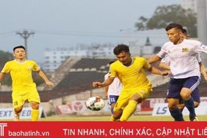Vòng 3 Giải hạng Nhất: Hồng Lĩnh Hà Tĩnh quyết phá dớp sân Long An?
