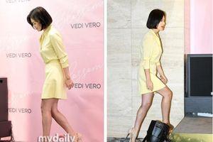 Song Hye Kyo bất ngờ để lộ khuyết điểm ngay tại sự kiện