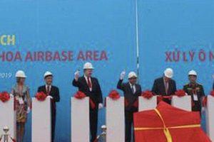 Khởi động dự án xử lý dioxin ở sân bay Biên Hòa