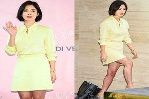 Song Hye Kyo gây sốc khi để lộ làn da xám xịt, sần sùi kém duyên