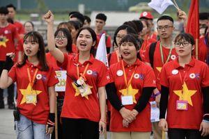 Hàng trăm tình nguyện viên CLB C25 hào hứng tham dự 'Hành trình Đỏ về nguồn 2019'