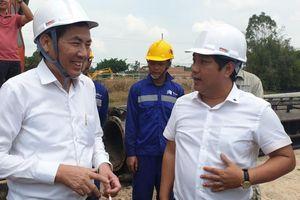 Phó Ban Tuyên giáo Trung ương thăm dự án cao tốc Trung Lương – Mỹ Thuận