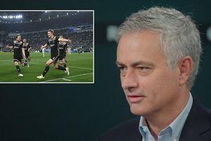 Mourinho 'mách nước' cho Tottenham đối phó Ajax ở Champions League