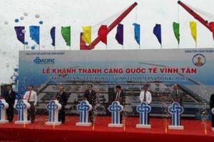 Khánh thành Cảng Quốc tế Vĩnh Tân vốn đầu tư 2.300 tỷ đồng