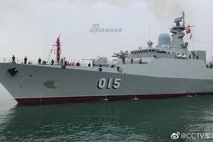 Gepard 3.9 Việt Nam sánh vai cùng dàn chiến hạm hiện đại tại Trung Quốc