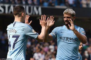 Rửa hận trước Tottenham, Man City trở lại ngôi đầu Ngoại hạng Anh