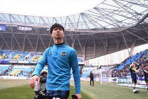 Công Phượng chỉ khởi động ngày Incheon United ngắt mạch 6 trận thua