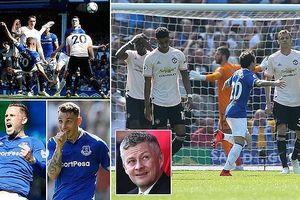 Everton - Man United 4-0: Richarlison, Sigurdsson, Digne, Walcott gieo sầu HLV Solskjaer