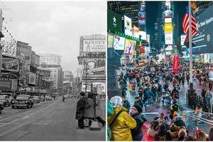 Loạt địa điểm nổi tiếng ở New York 'lột xác' qua thời gian