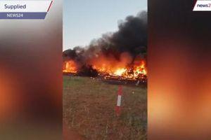 Bulgaria: Máy bay rơi khiến cả hành khách và phi công thiệt mạng